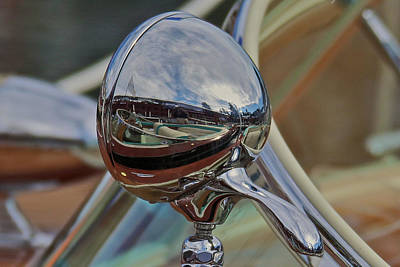 Photograph - Riva Chrome by Steven Lapkin