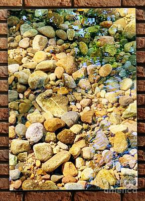 Photograph - River Rocks by Laura Forde