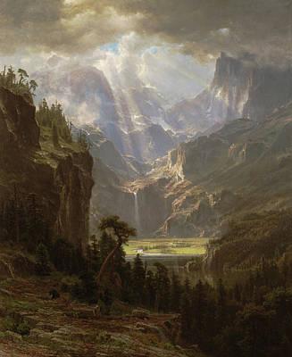 Painting - Rocky Mountains, Lander's Peak by Albert Bierstadt