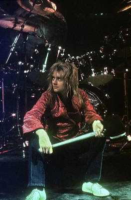 Photograph - Roger Taylor by Michael Ochs Archives