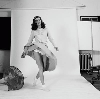 Music Photograph - Rush Recording Permanent Waves by Fin Costello