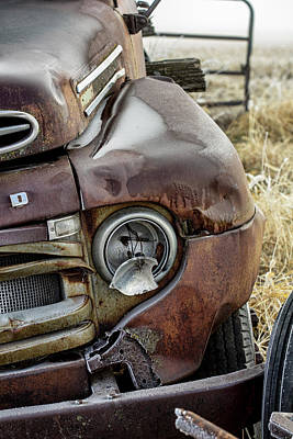 Photograph - Rusty Ford Series by Eleanor Caputo