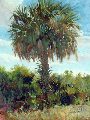 Painting - Sabal Palm by Blair Updike