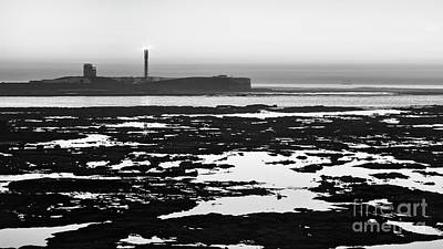 Photograph - Saint Sebastian Castle Lighthouse Cadiz Spain by Pablo Avanzini