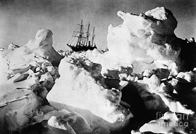 Photograph - Shackleton Expedition, C1915 by Granger