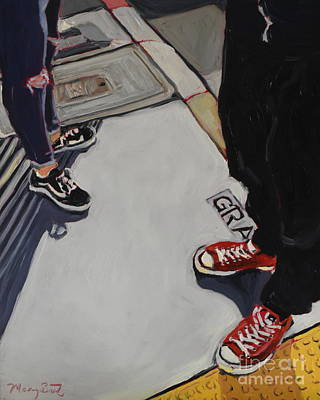 Valentines Day - Shoes in the City by Mary Beth Harrison