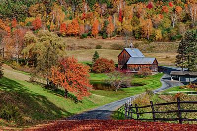 Photograph - Sleepy Hollow Farm by Jeff Folger