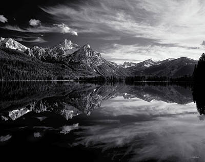 Photograph - Stanley Lake by Leland D Howard