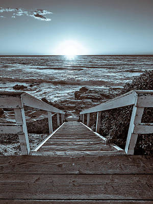 Photograph - Steps To The Sun by Peter Tellone