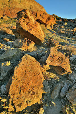 Photograph - Sunrise On Boulders Of Ruby Mountain by Ray Mathis