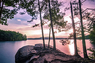Photograph - Sunrise On Lake Jocassee South Carolina by Alex Grichenko