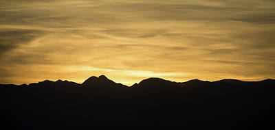 Photograph - Sunset Over Red Rock Canyon Near Las Vegas Nevada by Alex Grichenko