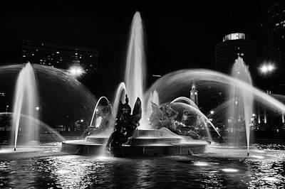 Photograph -  Swann Memorial Fountain by Louis Dallara