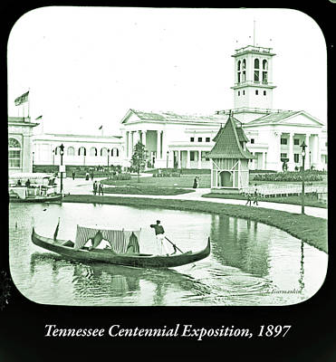 Photograph - Tennessee Centennial Exposition, Auditorium Building, Lake And G by A Gurmankin