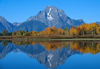 Photograph - Teton Mountains by David Hosking