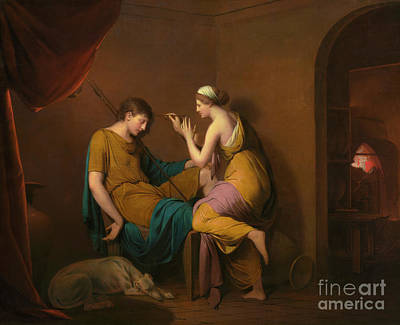 Painting - The Corinthian Maid by Joseph Wright of Derby