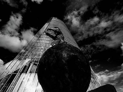 Photograph - The Globetrotter 1 by Jorg Becker