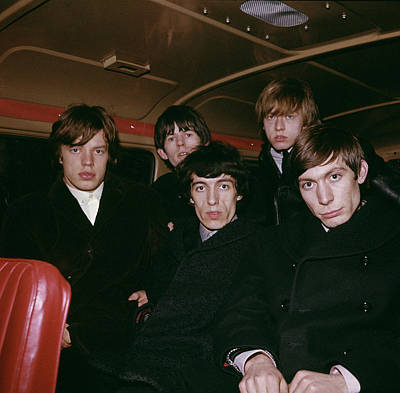 Photograph - The Rolling Stones by Paul Popper/popperfoto