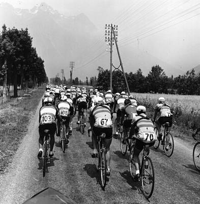 Photograph - Tour De France by Bert Hardy