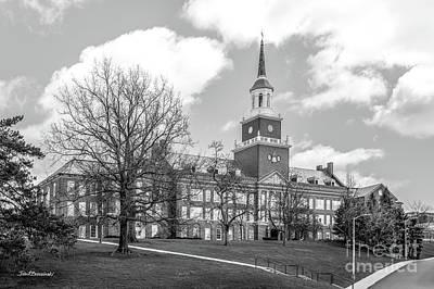 Photograph - University Of Cincinnati Mc Micken Hall  by University Icons