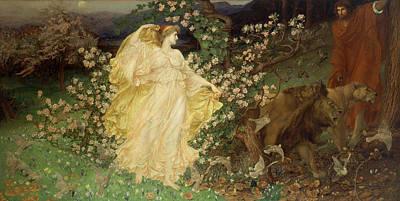 Painting - Venus And Anchises by William Blake Richmond