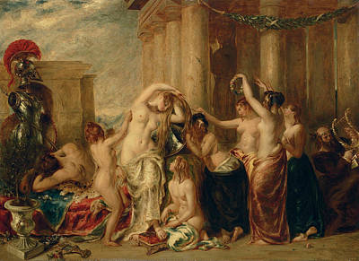 Painting - Venus And Her Satellites by William Etty