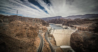 Photograph - Wandering Around Hoover Dam On Lake Mead In Nevada And Arizona by Alex Grichenko