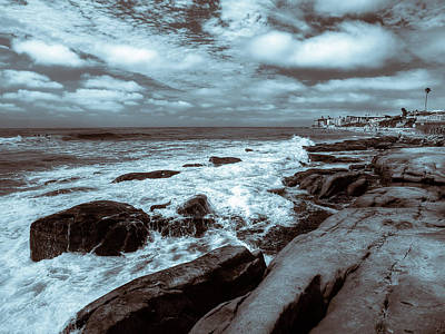 Photograph - Wave Wash by Peter Tellone