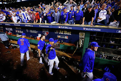 Playoffs Photograph - Wild Card Game - Chicago Cubs V by Jared Wickerham