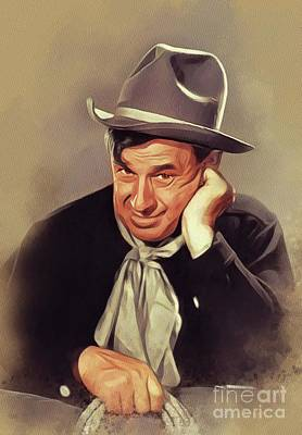 Pop Art - Will Rogers, Vintage Actor by Esoterica Art Agency