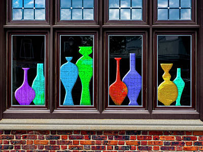 Photograph - Window Dressing by Paul Wear