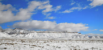 Photograph - Winter At The Book Cliffs by Ray Mathis