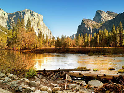 Autumn Photograph - Yosemite National Park , California by Pgiam