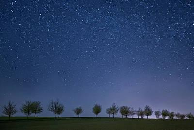 Photograph - 200 Stars by Steffen Schnur