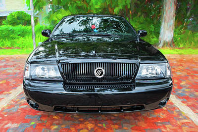Photograph - 2003 Mercury Marauder 007 by Rich Franco