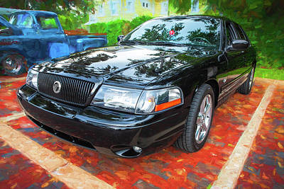 Photograph - 2003 Mercury Marauder 002 by Rich Franco