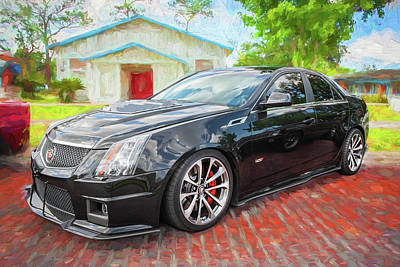 Photograph - 2012 Cadillac Cts-v700 Hennessy A101 by Rich Franco