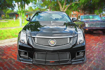 Photograph - 2012 Cadillac Cts-v700 Hennessy A104 by Rich Franco