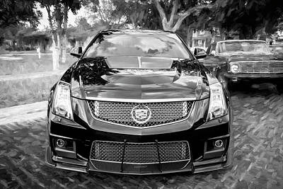 Photograph - 2012 Cadillac Cts-v700 Hennessy A105 by Rich Franco