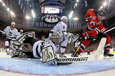 Los Angeles Kings Photograph - 2012 Stanley Cup Finals - Game 1  Los by Bruce Bennett