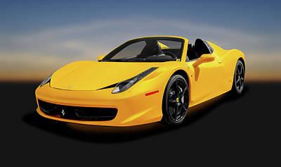 Photograph - 2013 Ferrari 458 Spider  -  2013ferrari458spider186065 by Frank J Benz