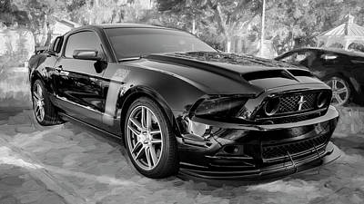 Photograph - 2013 Ford Mustang Boss 302 Laguna Seca Edition 10a by Rich Franco