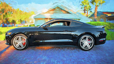 Photograph - 2017 Ford Mustang 11a by Rich Franco