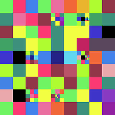 2018-10-25-14-32 Grid Art Print