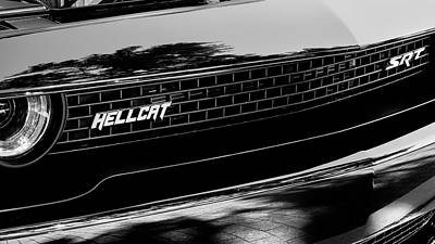Photograph - 2018 Dodge Challenger Srt Hellcat 001 by Rich Franco
