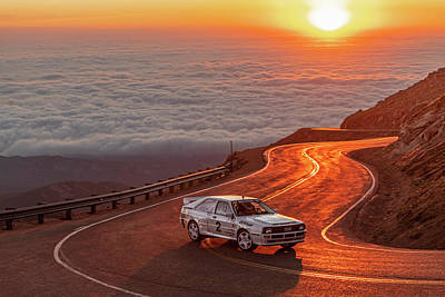 Photograph - 2018 Pikes Peak Hill Climb by Drew Phillips