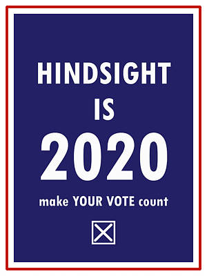 Digital Art - 2020 Hindsight by Richard Reeve