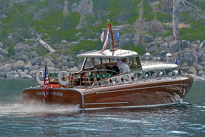 Outerspace Patenets Rights Managed Images - Thunderbird Yacht Royalty-Free Image by Steven Lapkin