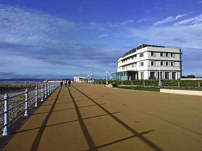 Photograph - 22/09/18  Morecambe. The Midland Hotel. by Lachlan Main