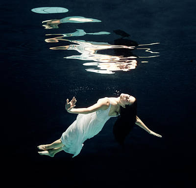 Photograph - Ballet Dancer Underwater by Henrik Sorensen
